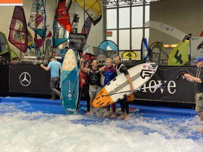 IMG 8228 400x300 - Fiona Wylde und Zane Schweitzer siegen bei den boot Düsseldorf SUP Wave Masters 2020